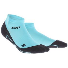 cep Calcetines Compresión Corte Bajo Mujer, azul/negro